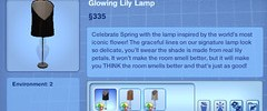 Glowing Lily Lamp