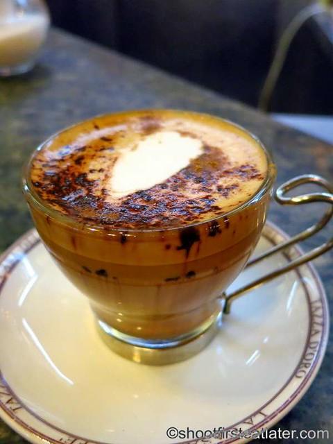 Tazza d'Oro - marocchino €1.20
