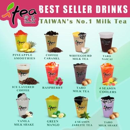 iTea Milk Tea