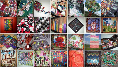 28 quilts made by Persimon Dreams for Project QUILTING Challenges