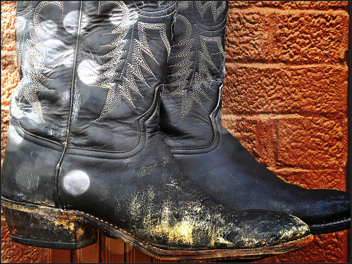 Cowboy Boots Grapevine Texas GLN504 by Dallas Photoworks