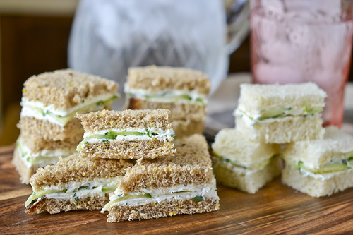 Herbed Goat Cheese Sandwiches 2