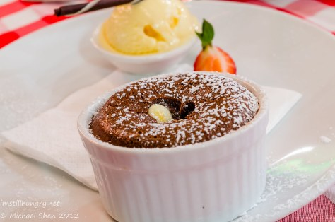 Casa Di Nico - warm chocolate fondant