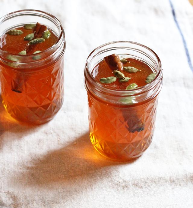 cinnamon cardamom honey