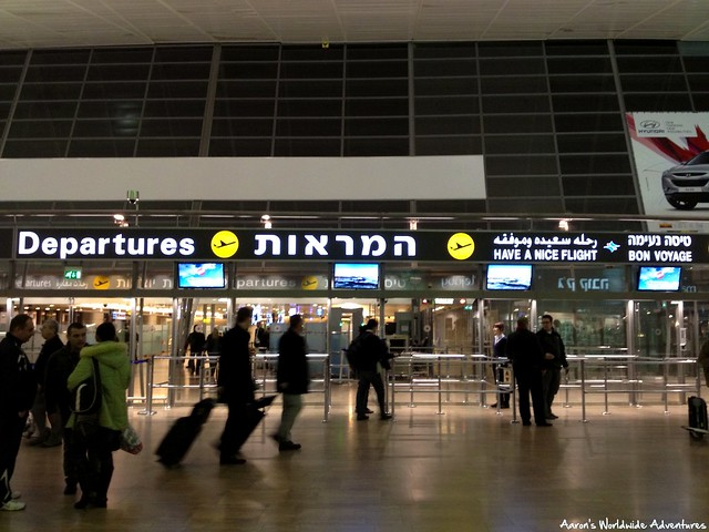 Departures Area at TLV