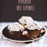 Vegan Chocolate Peppermint Oreo Cupcakes