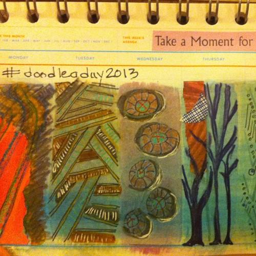 #doodleaday2013 Sunday night #doodle xoS