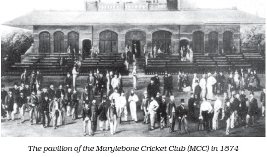 NCERT Class VII English Chapter 10 The Story of Cricket Image by AglaSem