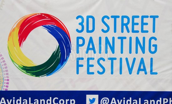 Avida 3D Street Painting competition held last year.