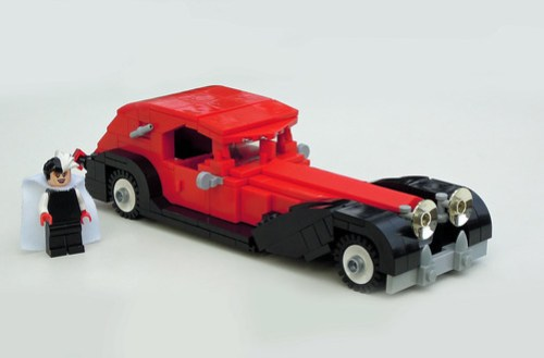 Cruella DeVil's LEGO Car