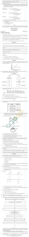 CBSE Board Exam 2013 Class 12 Sample Question Paper for Biology