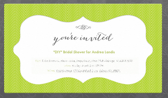 DIY Bridal Shower