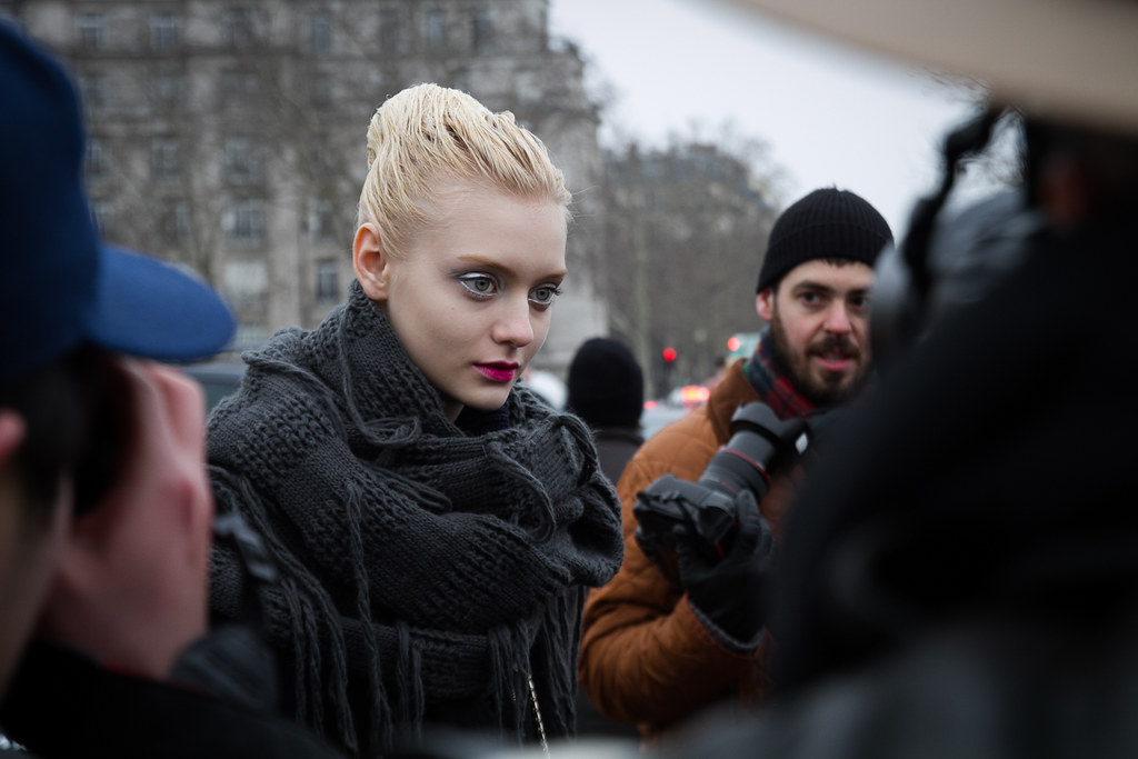 Tuukka13 -  Moods and People Outside Dior Womens FW 13 RTW Show - Paris Fashion Week -6