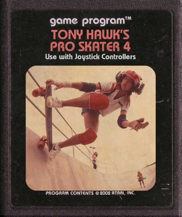 Tony Hawks Atari Cartridge