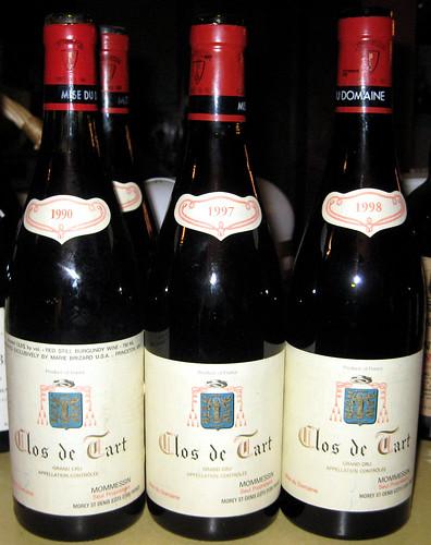12/14/07 Weiner Burgundy Dinner
