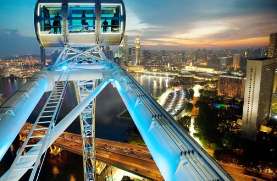 Feast your eyes on the breathtaking 360-degree views of the Lion City aboard the Singapore Flyer and get special discounts when you fly with Cebu Pacific.