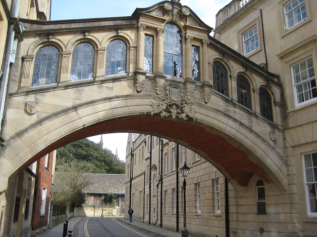 Bridge of Sighs, Oxford style