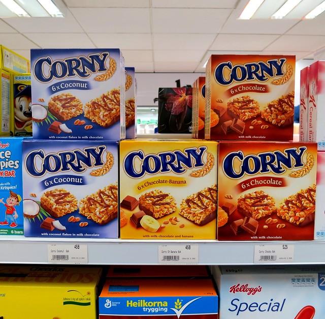 Corny snack bars, Iceland 2013