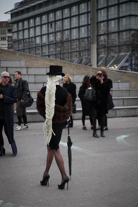 Tuukka13 - Street Style Outside Rick Owens Womens FW 13 RTW Show - Paris Fashion Week -3