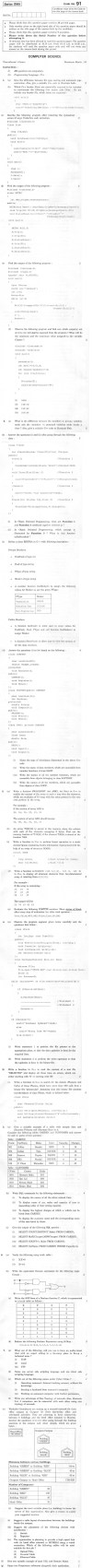 CBSE Class XII Previous Year Question Paper 2012: Computer Science Image by AglaSem
