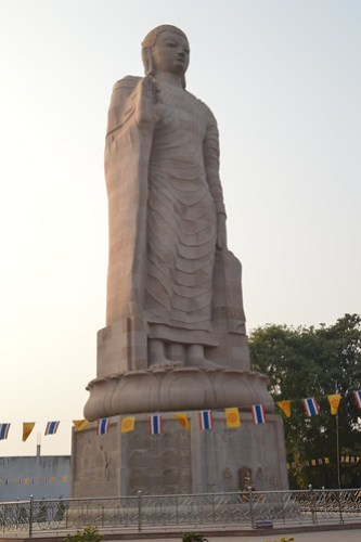 The Tallest Statue of Lord Buddha at Sarnath India