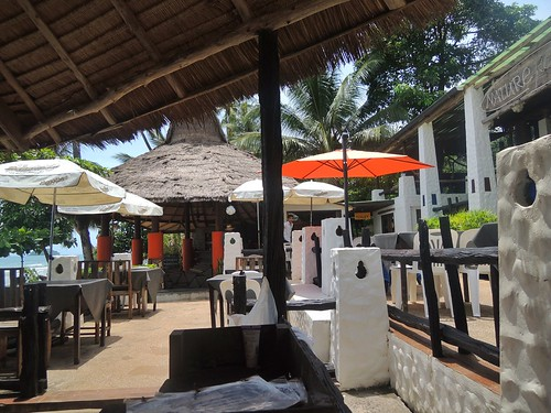 Restaurant und Bar im Nature Beach Resort