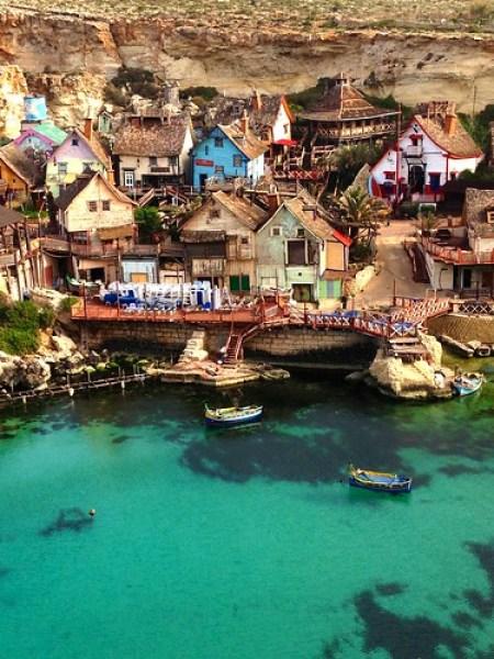 Popeye village a malta il villaggio di braccio ferro