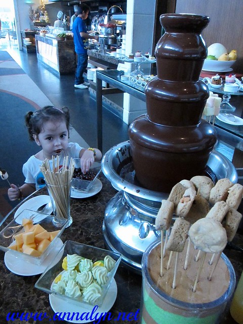 F1 Hotel Chocolate Fountain