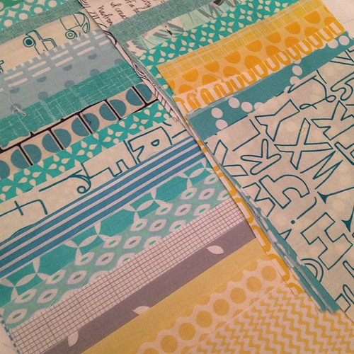 Baby quilt all cut out! #quiltforbabyNolan