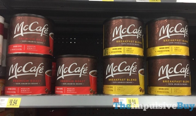 McCafe Coffee in Cans