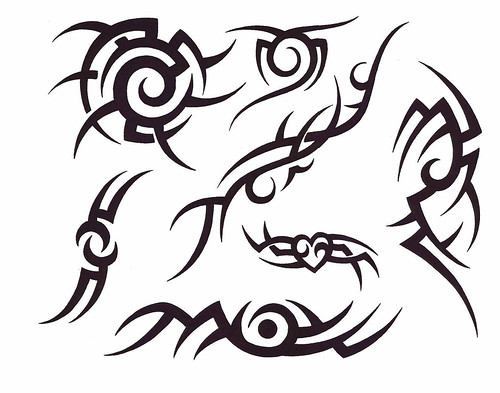 simpl\e tribal tattoo designs