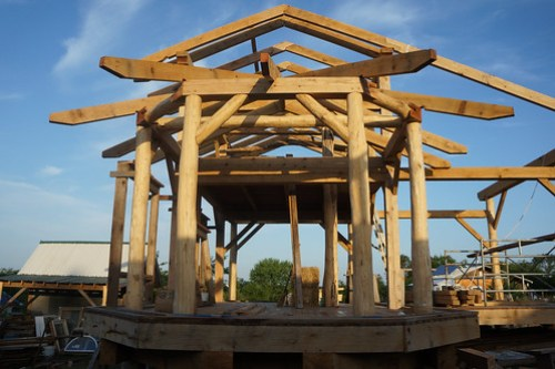 Timber Frame Compound Roof