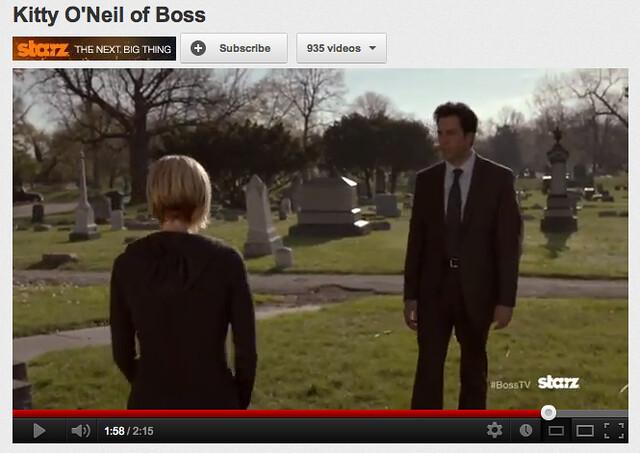Kitty O'Neil of Boss