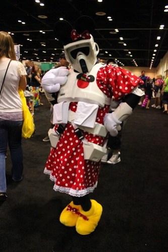 Minnie Mouse Stormtrooper - Star Wars Celebration VI