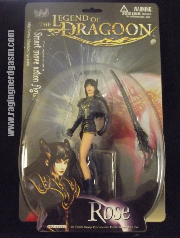 Legends of Dragoon Figures- Rose
