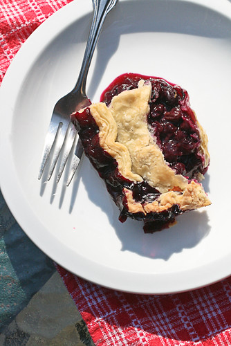 Vacation Blueberry Pie (2 of 2)