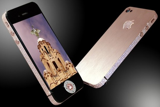 The Stuart Hughes iPhone 4 Diamond Rose
