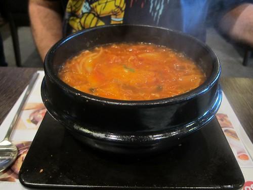 Kimchi chigae