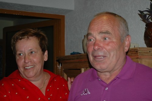 Melitta and Arnold Backer, schnapps-makers extraordinaires