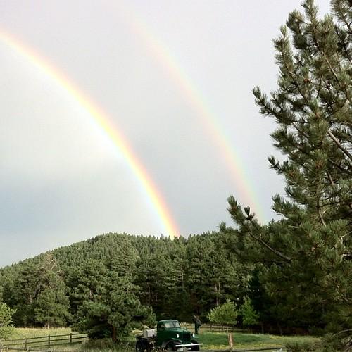Backyard Rainbows