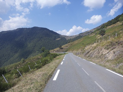 Col d'Aspin in distance