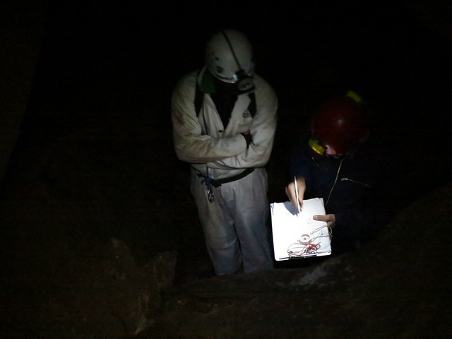 Surveying Gobholo Cave 2012