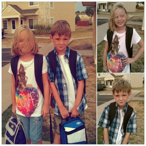 #firstday #secondgrade #fourthgrade