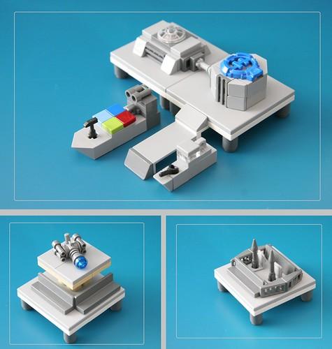 Microscale scenes