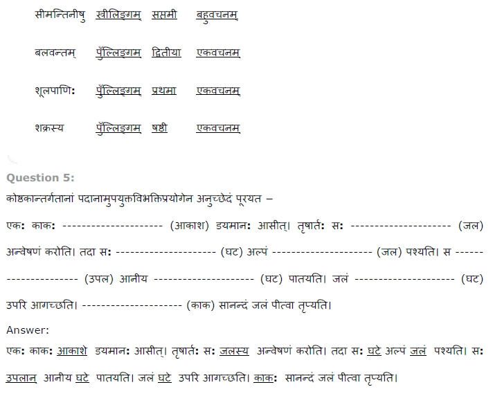NCERT Solutions for Class 8th Sanskrit Chapter 15 प्रहेलिका  Image by AglaSem