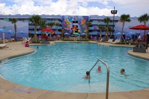 The Little Mermaid wing at Disney's Art of Animation Resort