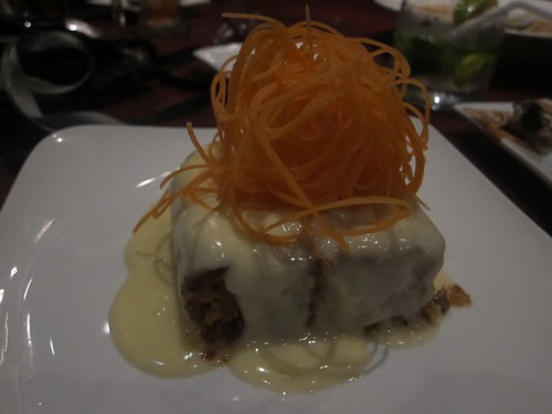 Village Tavern carrot cake