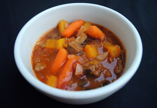 Crockpot Beef and Butternut Squash Stew