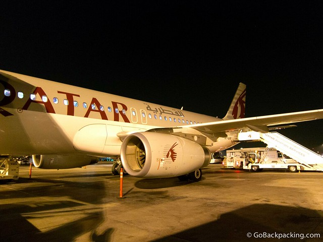 Arriving in Doha