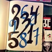 Desenhar Números